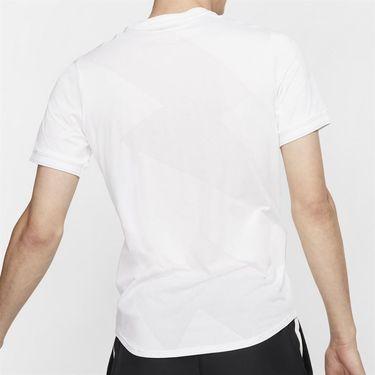 Nike Rafa Aeroreact Jacquard Shirt - White/Black