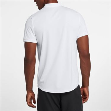 Nike Court Dry Blade Polo - White/Black