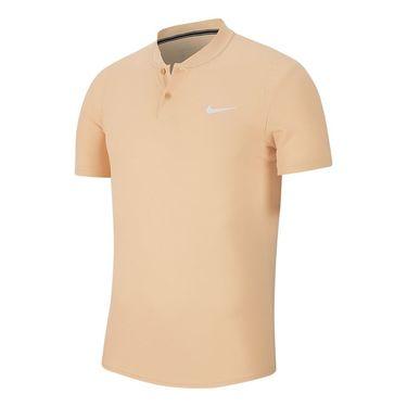 Nike Court Dry Blade Polo Shirt Mens White Onyx/White AQ7732 268