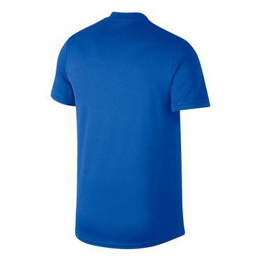 Nike Court Dry Blade Polo - Signal Blue/White