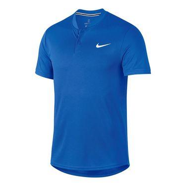 Nike Court Blade Polo - Signal Blue/White
