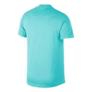 Nike Court Blade Polo - Light Aqua/White