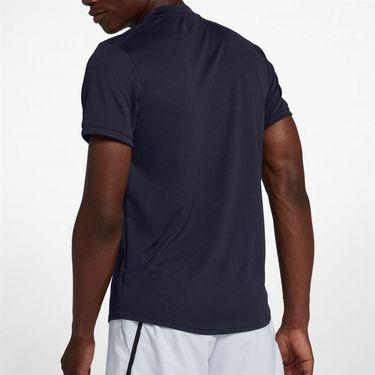 Nike Court Dry Blade Polo - Obsidian/White