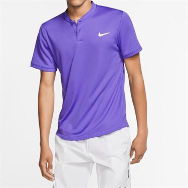 Nike Court Blade Polo - Psychic Purple/White