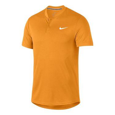Nike Court Dry Blade Polo - Canyon Gold/White