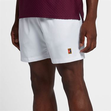 Nike Court Dry 8 Inch Short - White