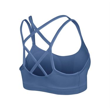 Nike Favorites Strappy Sports Bra - Indigo Storm/Black
