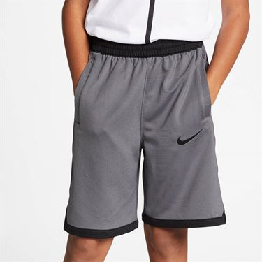 Nike Boys Dri Fit Short - Dark Grey/Black
