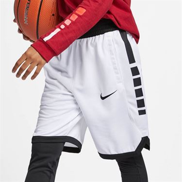 Nike Boys Dri Fit Short - White/Black