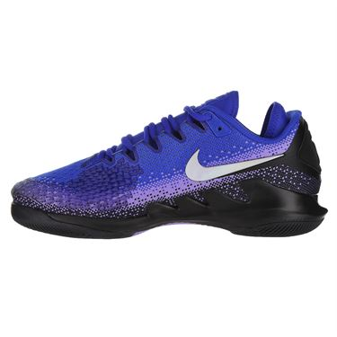 Nike Air Zoom Vapor X Knit Mens Tennis Shoe - Black/Multi Color/Racer Blue