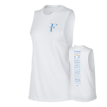 Nike Court RF Muscle Tank - White