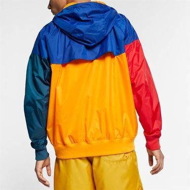Nike Sportswear Windrunner Jacket - Orange Peel/Indigo Force/White