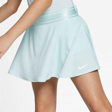 Nike Girls Court Dri Fit Skirt - Teal Tint/White