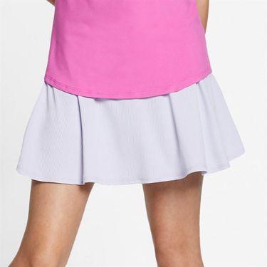 Nike Girls Court Dri Fit Skirt - Oxygen Purple/White
