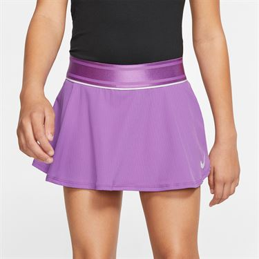 Nike Girls Court Flouncy Skirt Purple Nebula/White AR2349 532
