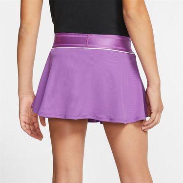 Nike Girls Court Flouncy Skirt Purple Nebula/White AR2349 532
