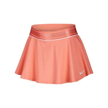 Nike Girls Court Skirt Sunblush/White AR2349 655