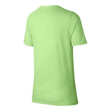 Nike Boys Court Rafa Graphic Tee - Barely Volt/Light Carbon