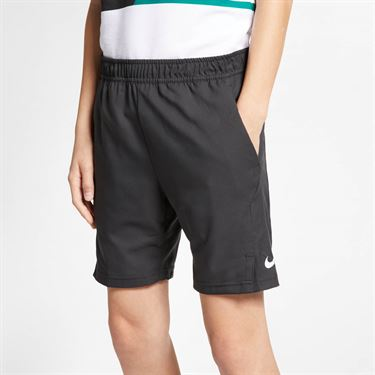 Nike Boys Court Dri-FIT Short - Black/White