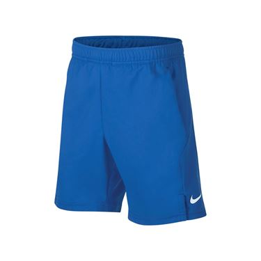 Nike Boys Court Dri Fit Short - Signal Blue/White