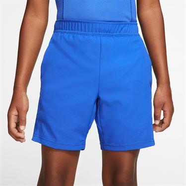 Nike Boys Court Dri Fit Short Game Royal/White AR2484 480