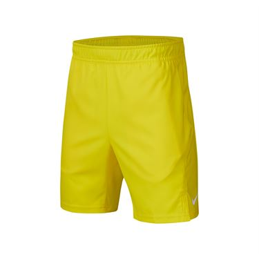 Nike Boys Court Dri Fit Short Opti Yellow/White AR2484 731