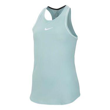 Nike Girls Court Dry Tank - Teal Tint/White
