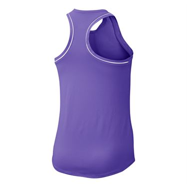 Nike Girls Court Dry Tank - Psychic Purple/White