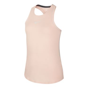 Nike Girls Court Dry Tank Washed Coral/White AR2501 664