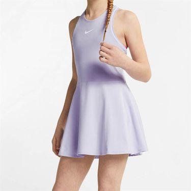 Nike Girls Court Dry Dress - Oxygen Purple/White