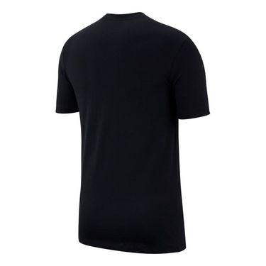 Nike Sportswear Tee - Black/Yellow pulse/Pink Gaze
