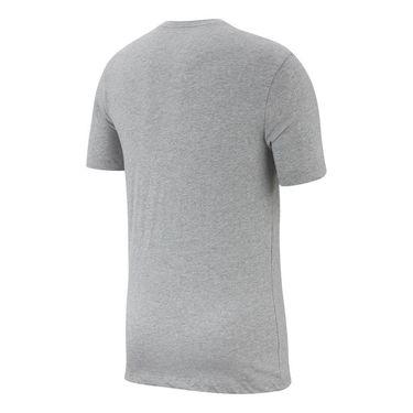 Nike Sportswear Tee - Dark Grey Heather/Black/University Red