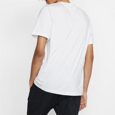 Nike Sportswear Tee - White/Black/University Red