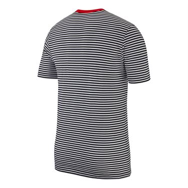 Nike Sportswear Training Tee - Black/Habanero Red