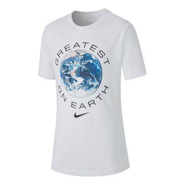 Nike Boys Sportswear Tee - White
