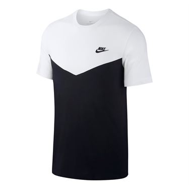 Nike Sportswear Club Crew - Black/White