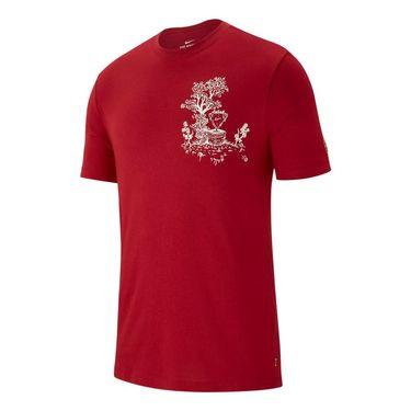 Nike Court Seasonal Tee - Team Crimson/Sail