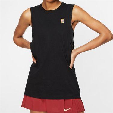 Nike Court Heritage Tank - Black/Multi Color