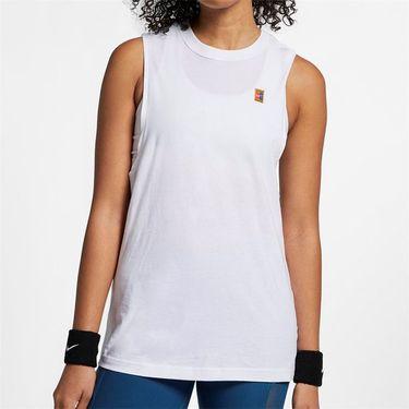 Nike Court Heritage Tank - White/Multi Color