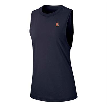 Nike Court Heritage Tank - Obsidian/Multi Color