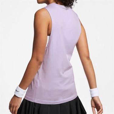 Nike Court Heritage Tank - Oxygen Purple/Multi Color