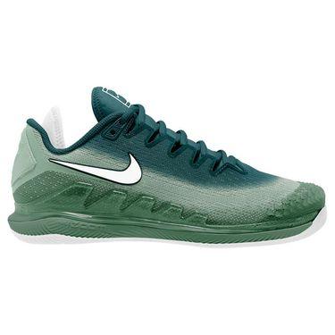 Nike Air Zoom Vapor X Knit Womens Tennis Shoe Light Smoke Grey/Pink Blast/Grey Fog AR8835 300