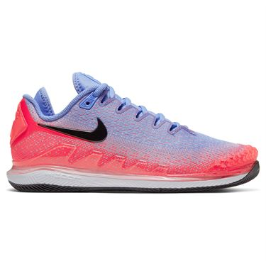 Nike Court Air Zoom Vapor X Knit Womens Tennis Shoe Royal Pulse/Black/Flash Crimson AR8835 400