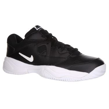 Nike Court Lite 2 Mens Tennis Shoe - Black/White