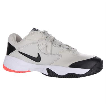 Nike Court Lite 2 Mens Tennis Shoe - Light Bone/Black/Hot Lava/White