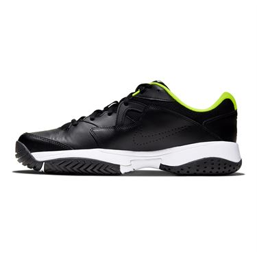 Nike Court Lite 2 Mens Tennis Shoe Black/White/Volt AR8836 009