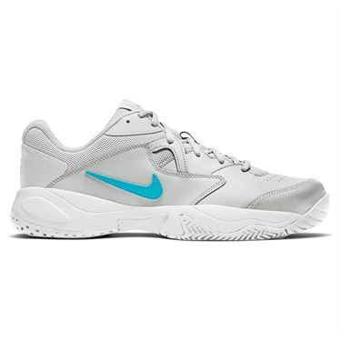 Nike Court Lite 2 Mens Tennis Shoe Photon Dust/Chlorine Blue/White AR8836 024