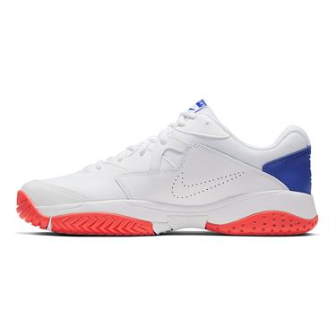 Nike Court Lite 2 Mens Tennis Shoe White/Game Royal/Flash Crimson AR8836 103