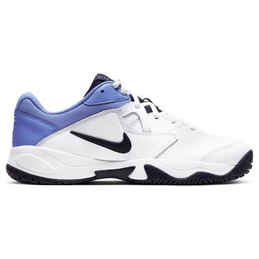 Nike Court Lite 2 Mens Tennis Shoe White/Obsidian/Royal Pulse AR8836 106