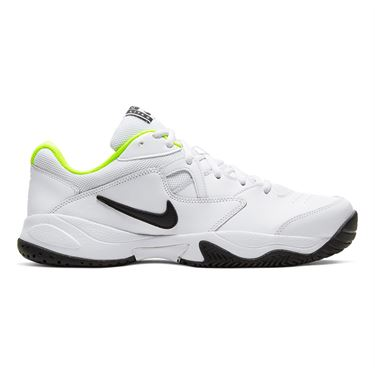 Nike Court Lite 2 Mens Tennis Shoe White/Black/Volt AR8836 107